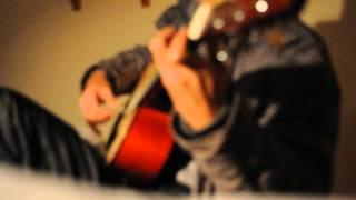 Bên đời hiu quạnh acoustic guitar - Lê Văn Chân