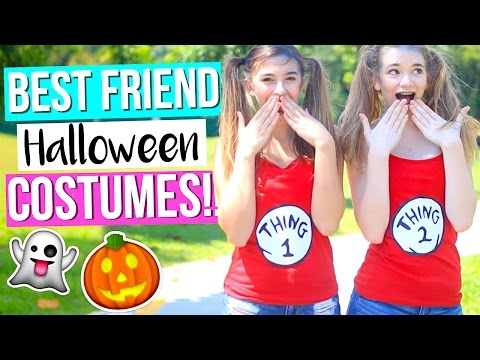 Best Friend Halloween Costume Ideas!!