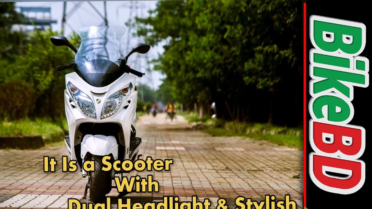 Znen Vista 150 Scooter Review,Top Speed,Specifications,Price In Bangladesh
