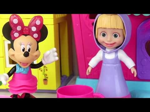 Minnie Has a Tea Party with Minnies Tea Set Party Play Set