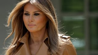 Melania Trump tweets response to questions on her whereabouts