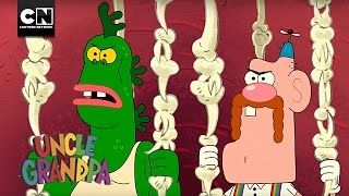 Uncle Grandpa | The Search for Pizza Steve! | Cartoon Network