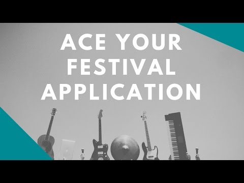 How To Ace Your Festival Application (ft. Daniel Mawer, Humber Street Sesh)