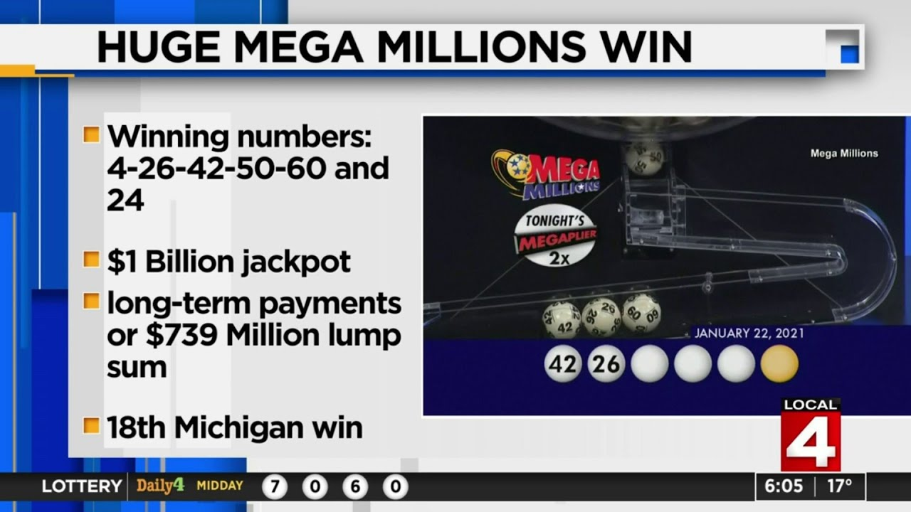 $1B Mega Millions jackpot winner bought ticket at Kroger's Novi ...