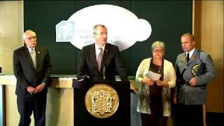 Governor Holds Press Conference on Storm Recovery Efforts and Power Restoration