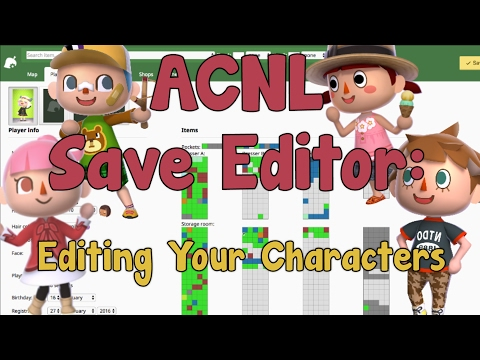 AC:NL Save Editor: How to Edit Your Character's Name, Appearance, and House