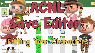 AC:NL Save Editor: How Edit Your Character