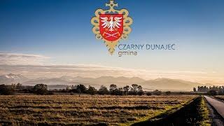 Gmina Czarny Dunajec z lotu ptaka.
