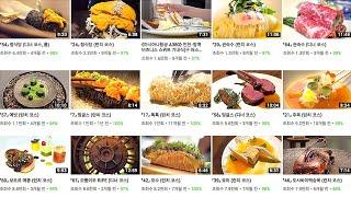 서울 미슐랭 레스토랑 맛집 추천 BEST 10