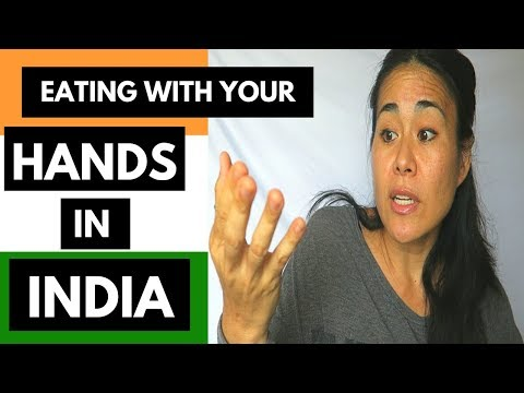 TRAVEL TIPS INDIA: EATING INDIAN FOOD WITH HANDS