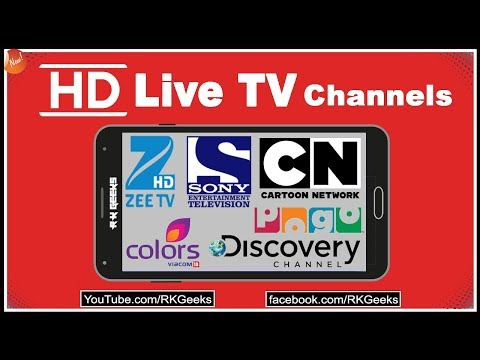 Watch HD Live TV Channels On Your Android Mobile Without Pay Any Cost