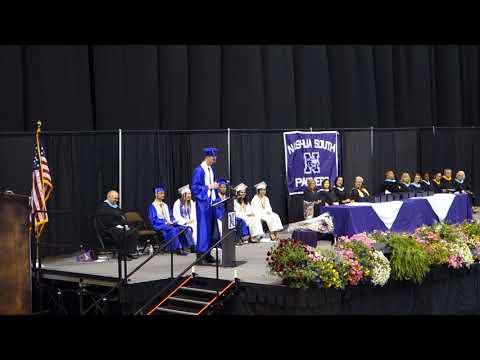Graduation 2018 - Nashua High School South - Class President Speech