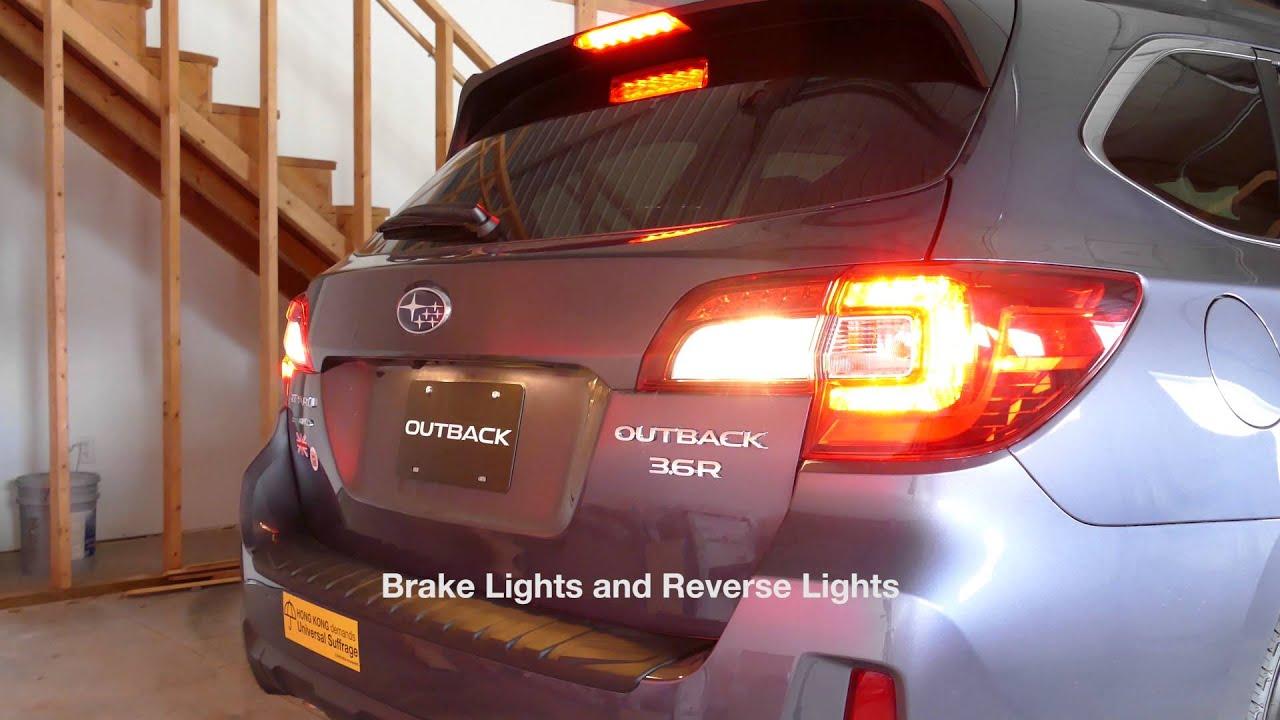 Subaru Outback Brake Light Fuse Location Box On 2006 Baja 2017 Limited Stock Tail Lights You