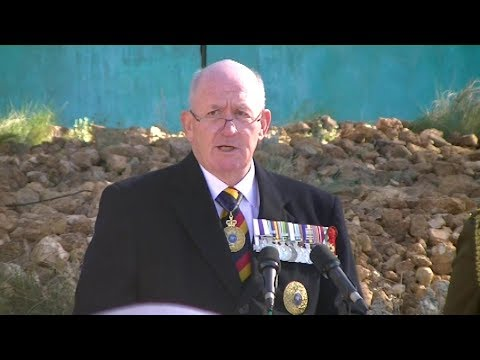 Dedication of the National Boer War Memorial Canberra 31 May 2017