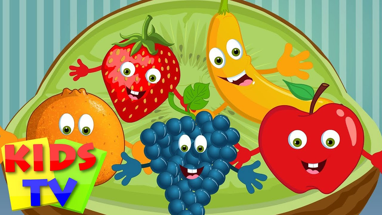 five little fruits nursery rhymes for children preschool rhymes