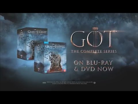Game Of Thrones: Season 1 To 8 Complete Box Set Trailer (HBO)