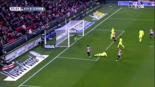 Athletic Bilbao - Barcelona Highlights HD 08.02.2015