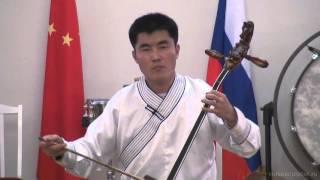 Игра на морин хуур. Пример видеосъемки от videosculptor.ru