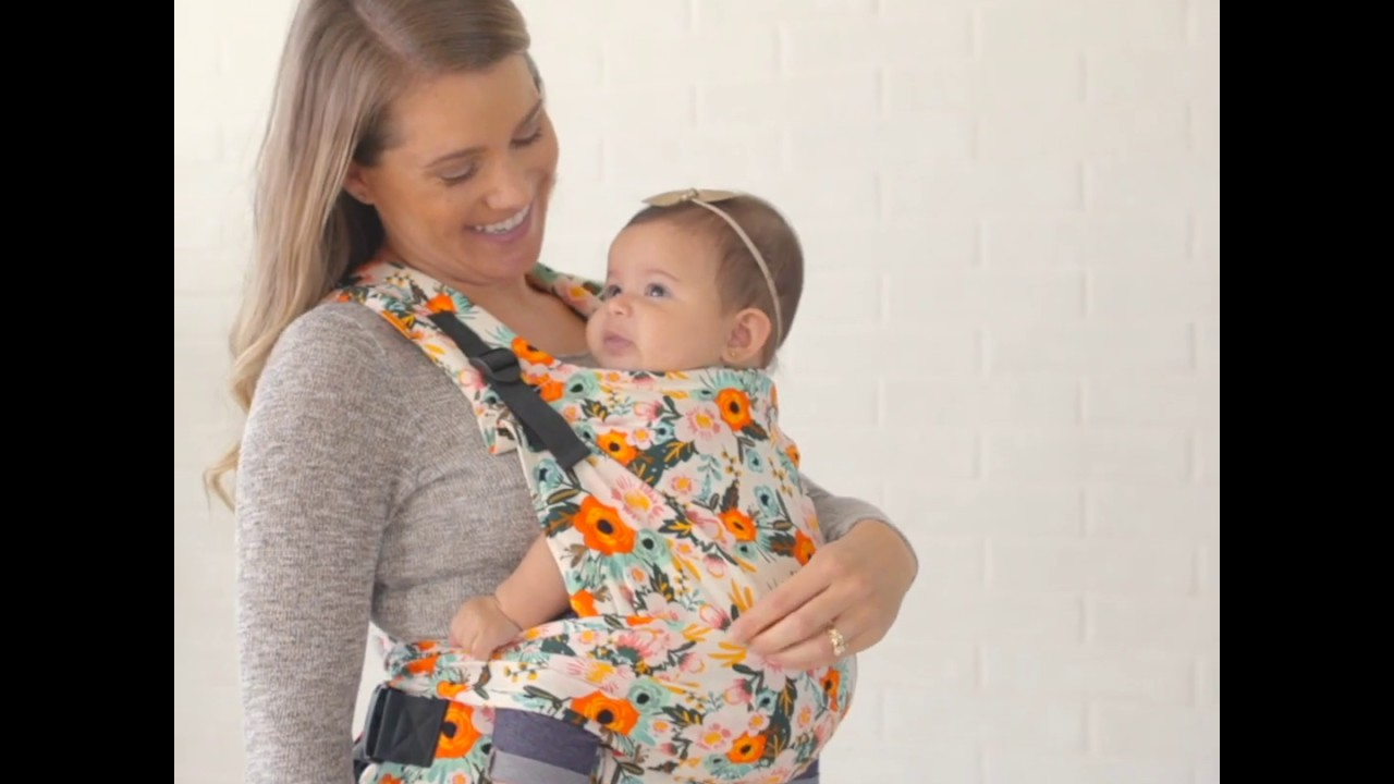 4bb71ecb412 Marigold - Tula Half Buckle Baby Carrier - YouTube