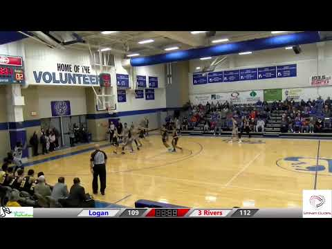 john a logan college vs 3 rivers