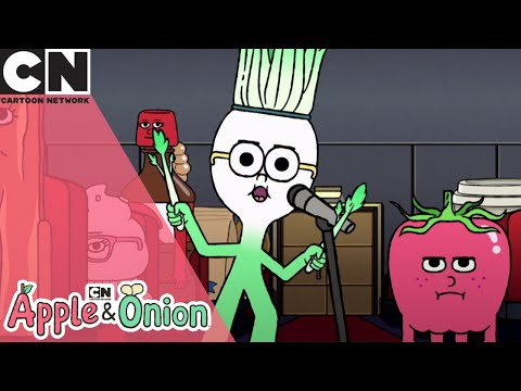 Apple and Onion   Hamburger Steals the Spotlight   Cartoon Network UK 🇬🇧