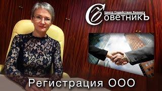 Регистрация ООО с одним учредителем<