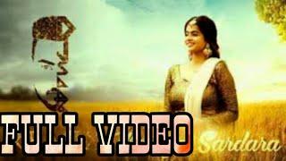 Mereya Sardara(Official video🎥) - Sharan Kaur - Releasing