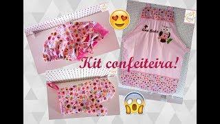 Kit Confeiteira – Passo a passo Touca Culinária