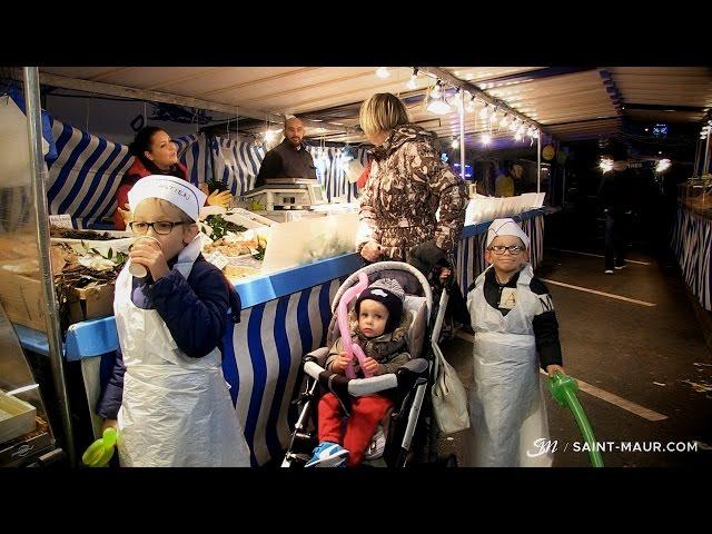 Vidéo Inauguration du marché de Saint-Maur Créteil en nocturne