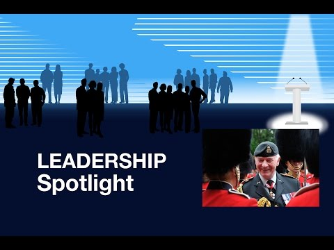 Leadership Spotlight: The Governor General and Commander-in-Chief