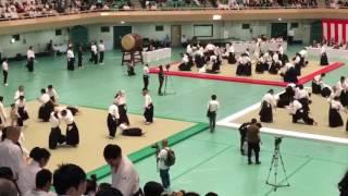 第55回全日本合気道演武大会 岩手県合気道連盟演武