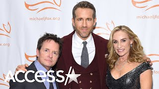 Ryan Reynolds, Katie Couric & More Rally To Support Michael J. Fox's Parkinson's Foundation