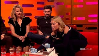 Margot Robbie Gives One of Her Biggest Fans A Toe Tattoo - The Graham Norton Show