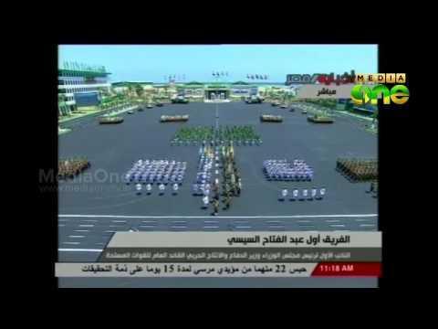 Egypt's Al-Sisi Leaves Military To Run for President