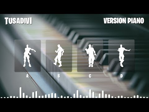 GUESS THE FORTNITE DANCE BY ITS PIANO VERSION MUSIC - FORTNITE CHALLENGE   tusadivi