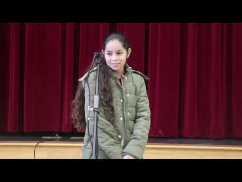 Veronica Flores Wins Stafford Intermediate School Spelling Bee