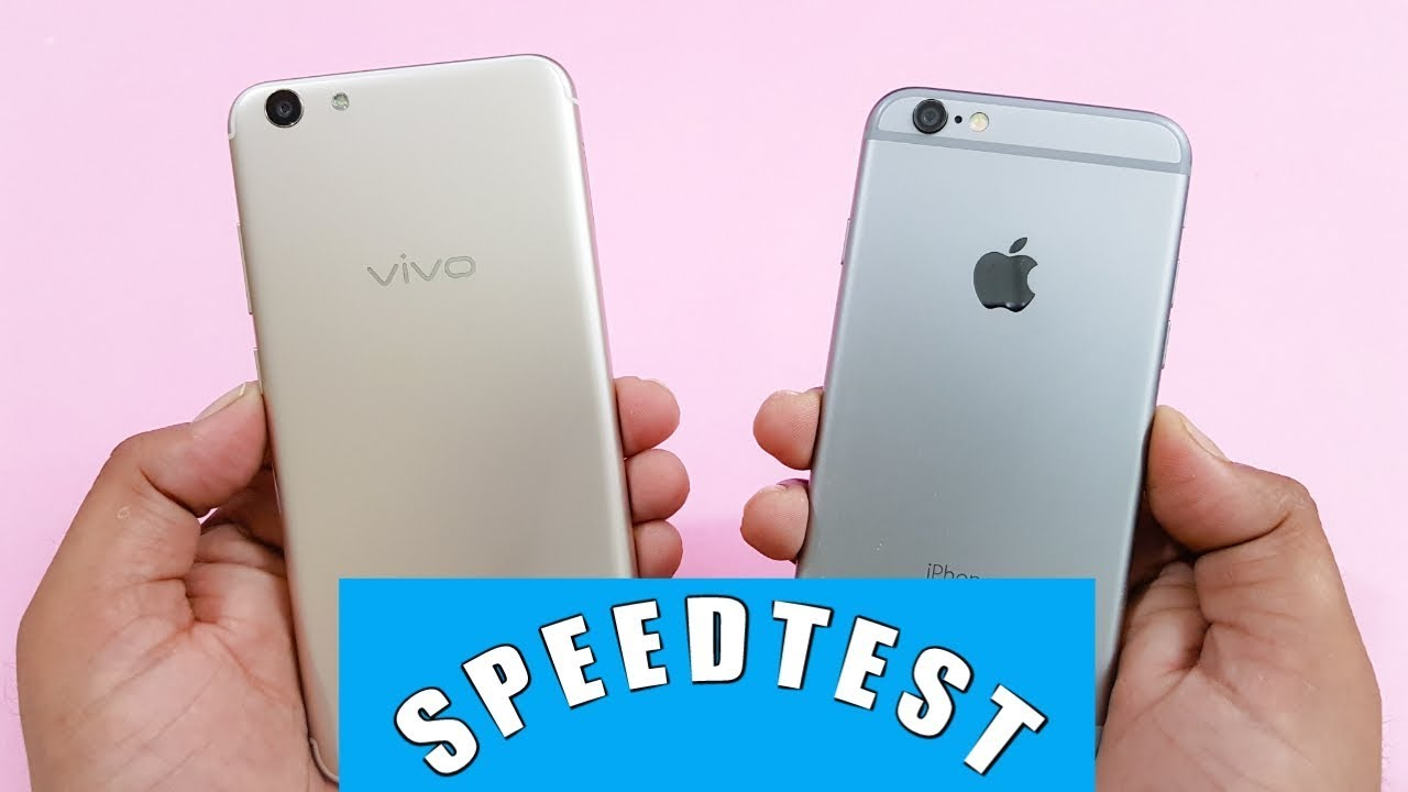 Vivo Y69 vs iPhone 6 Speed Test Comparison | Which is Faster