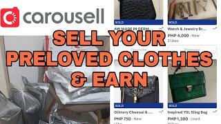SELL & EARN ONLINE ft. CAROUSELL! TUTORIAL | 100k EARNINGS FROM SELLING PRELOVED ITEMS screenshot 4
