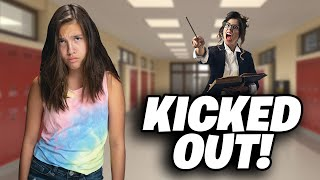 FIRST DAY OF SCHOOL!!! I Got Kicked Out of Class!
