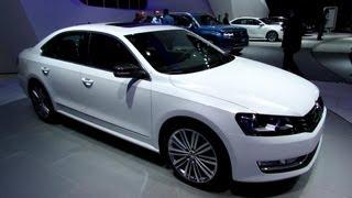 Volkswagen Passat BlueMotion Concept 2014 Videos