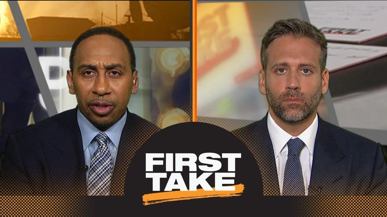 Stephen A. and Max debate: Kawhi Leonard to Lakers still possible next season? | First Take | ESPN