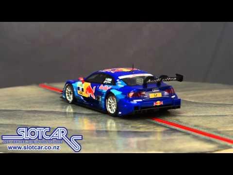 A10136 SCX Slot Car Audi A5 DTM Ekström Red Bull 11 Slotcar