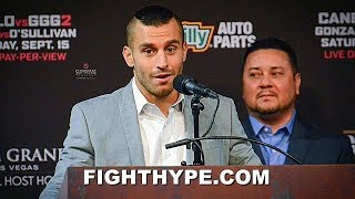 """DAVID LEMIEUX REPONDS TO """"YAPPING"""" FROM SPIKE O'SULLIVAN: """"YOU'RE GONNA GET KNOCKED OUT"""""""
