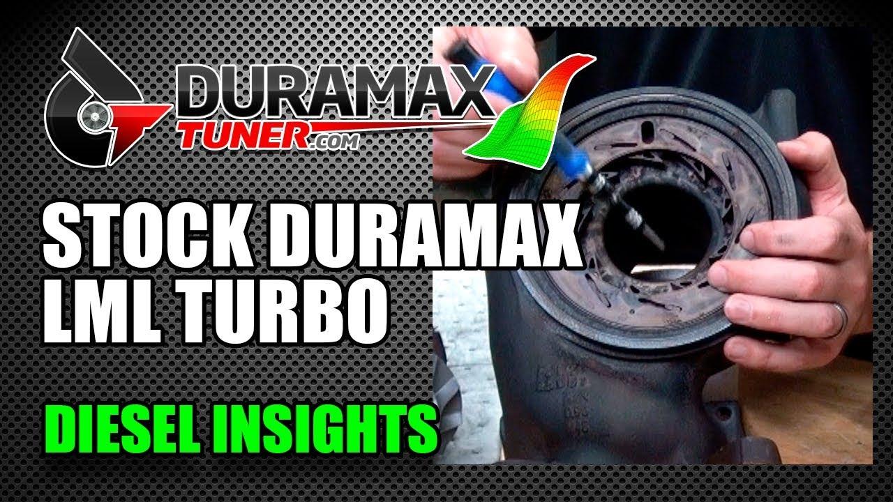 The stock Duramax LML Turbocharger - Diesel Insights