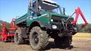 UNIMOG, 70 Jahren vielseitig in der Landwirtschaft !!! (Sound)