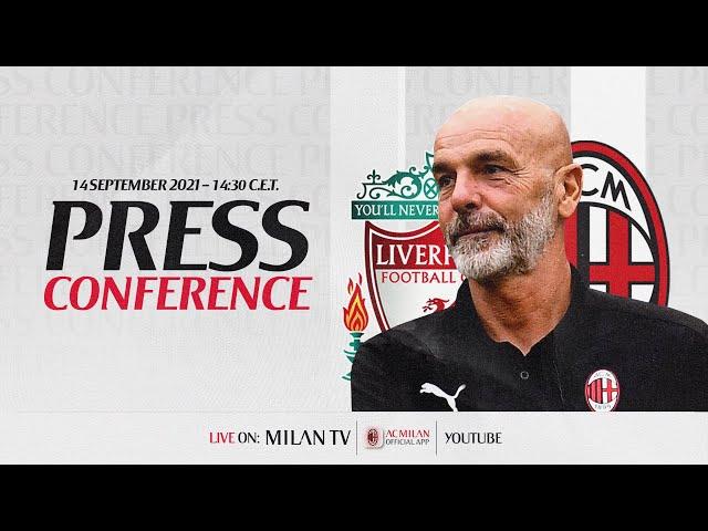 Pioli e Kjær LIVE | Conferenza stampa | #LiverpoolMilan