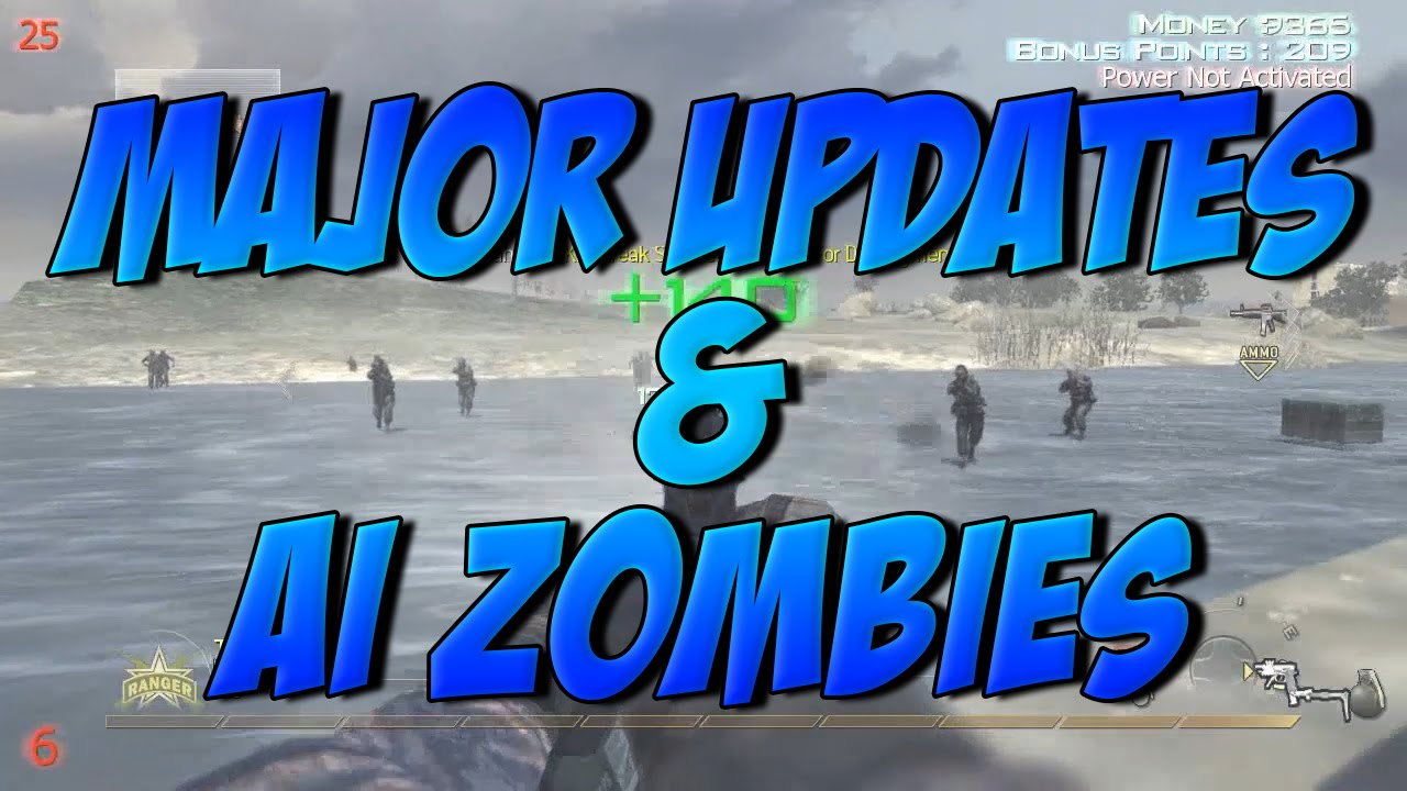 Major Updates & MW2 TU6 AI Zombies Extreme Gameplay | +Download