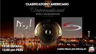 DOTA 2 - UNKNOWN TEAM vs COMPLEXITY - 1 - American Qualifier -Ti5 - ESPAÑOL - Viciuslab