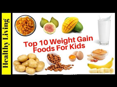 �� Top 10 foods to increase weight in children | children weight gain food kids weight gain food
