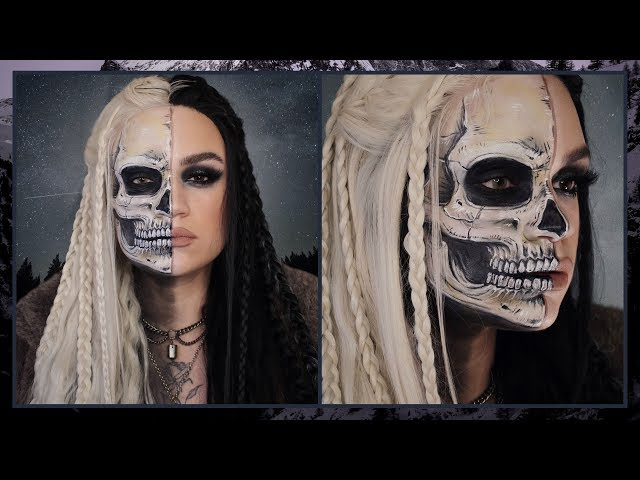Hel goddess of the underworld | Norse myth transformation | Makeupmouse